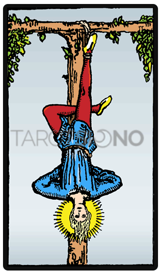El colgado Tarot