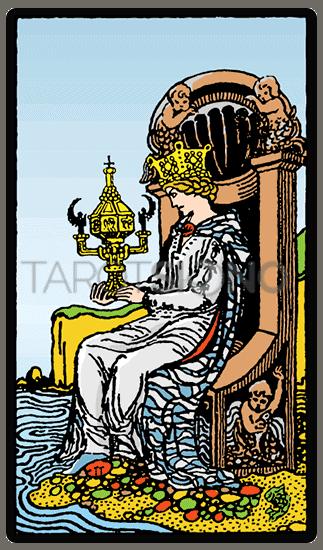 Reina de Copas Tarot