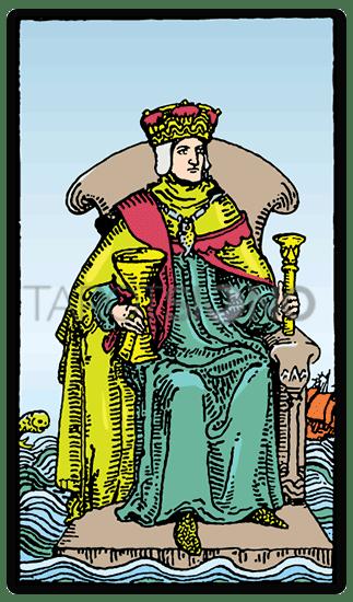 Rey de Copas Tarot