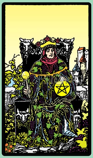Rey de Oros Tarot
